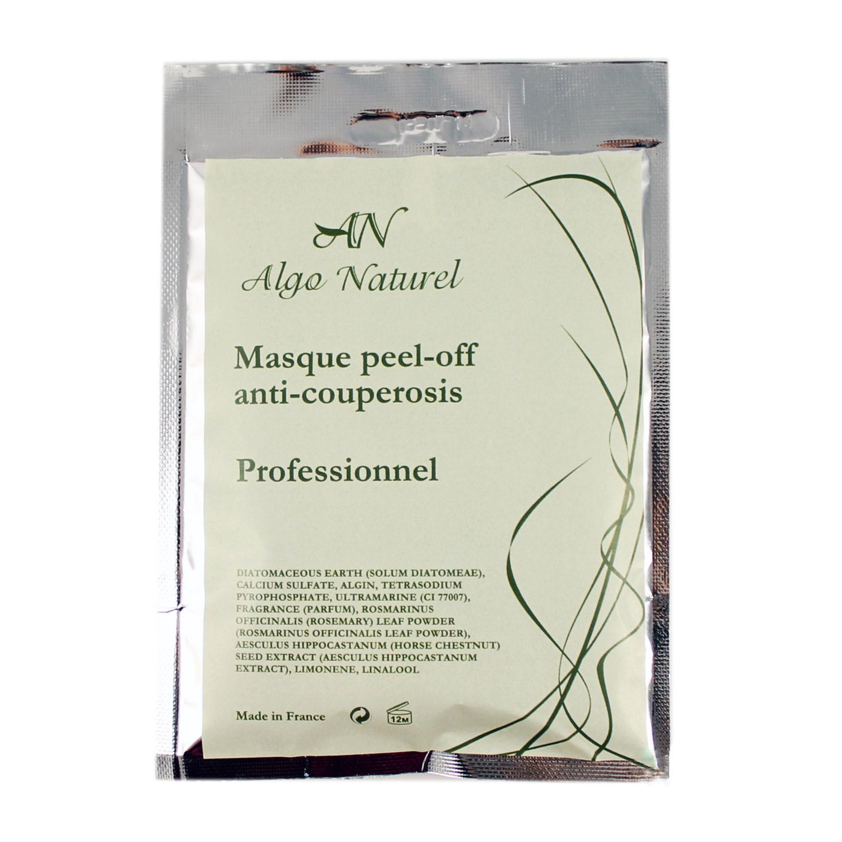 Альгинатная маска Algo Naturel антикуперозная 25 г