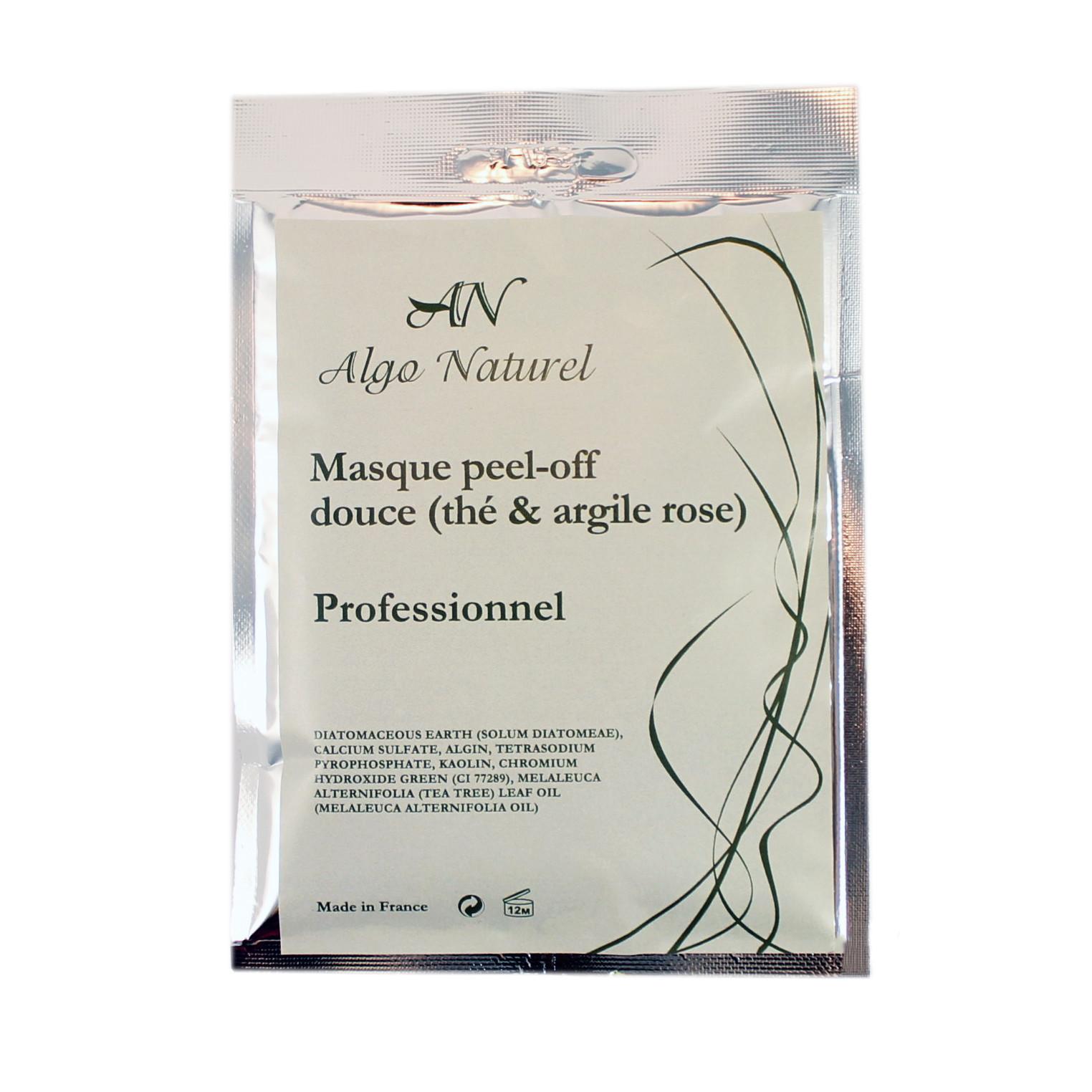 Альгинатная маска Algo Naturel для чувствительной кожи лица 25 г