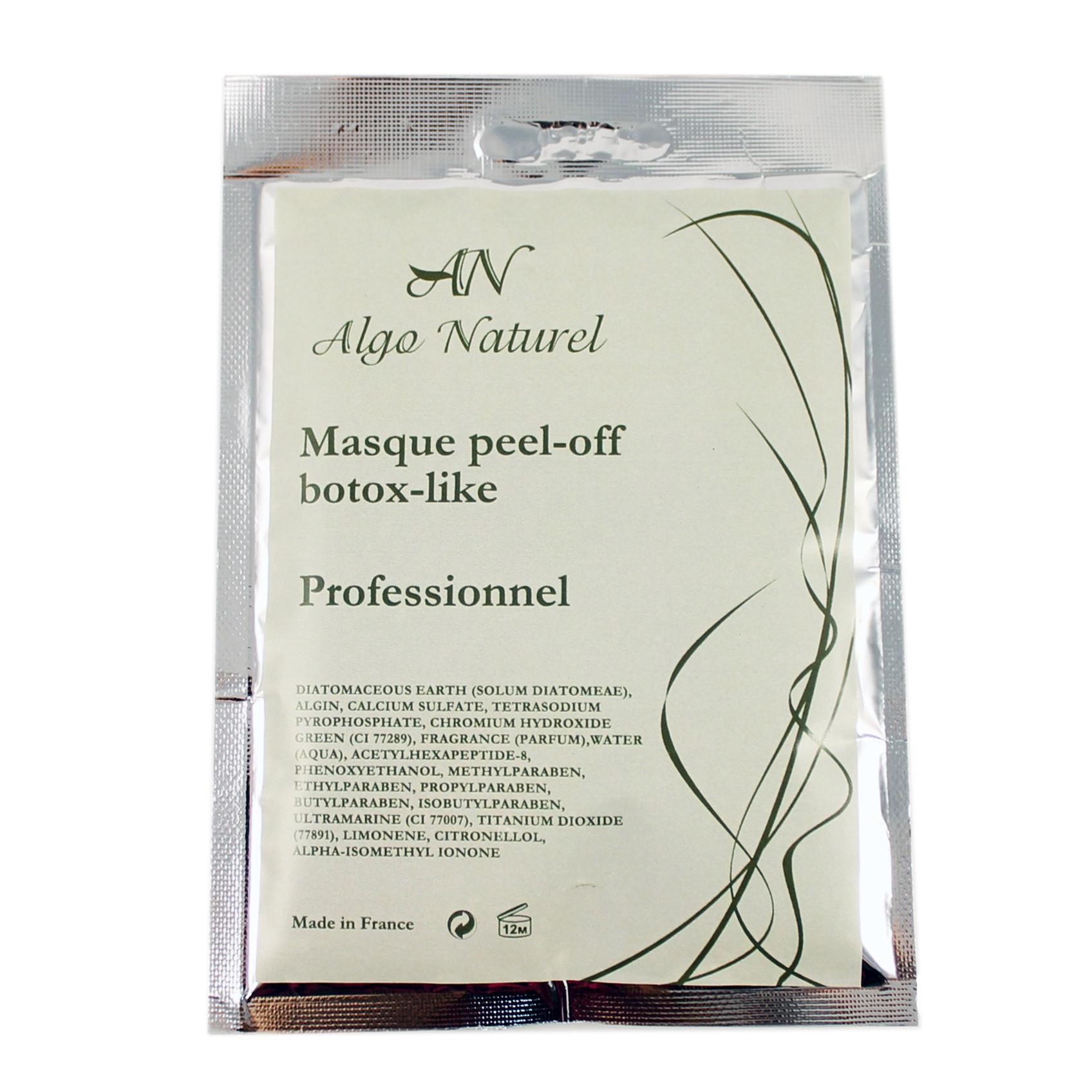 Альгинатная маска Algo Naturel с эффектом ботокса 25 г