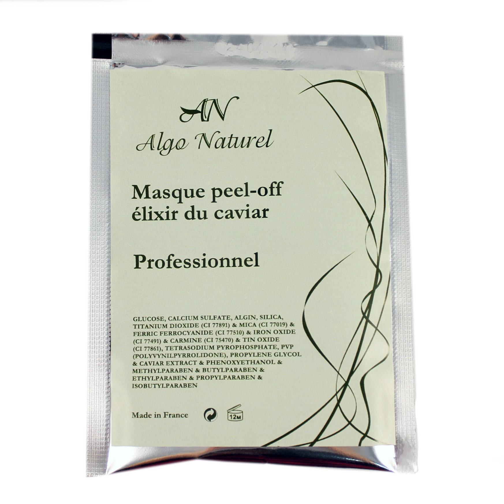 Альгинатная маска Algo Naturel с протеинами икры 25 г