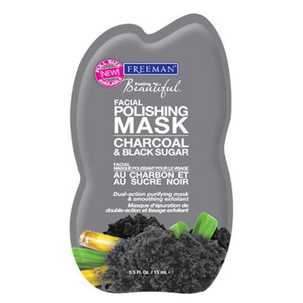 Маска для лица Freeman уголь и черный сахар 15 мл