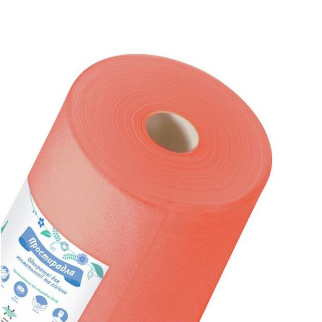Одноразовые простыни K.tex оранжевые 0,8 х 100 м