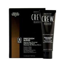 Система маскировки седины American Crew Precision Blend Medium Ash уровень 5-6 3 х 40 мл