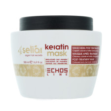 Маска для волос Echosline Seliar Keratin с маслом аргании и кератином 500 мл
