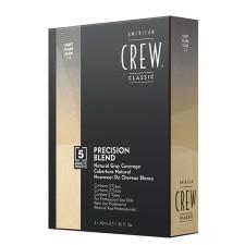 Система маскировки седины American Crew Dark Precision Blend Dark уровень 2-3 3 х 40 мл