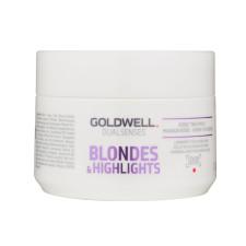 Маска Goldwell DualSenses Blondes & Highlights для осветленных и мелированных волос 200 мл