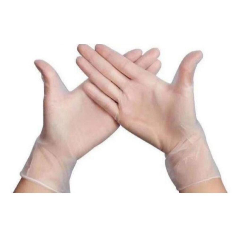 Перчатки винилово-полиэтиленовые